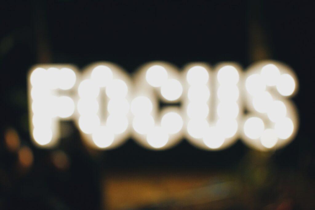 Fokus som perfektionismens motmedel